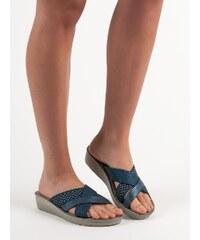 80e867723f Modré Dámske topánky z obchodu Zienky.sk
