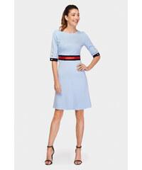 d943b62262fd Mini Šaty s dlhým rukávom
