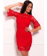 c7add4b4311b Numoco Dámske šaty Charlotte 200-4 červené - Glami.sk