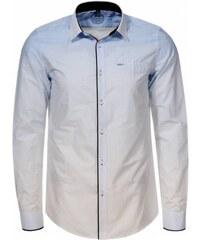0dbaae5b5f Arthur Phillip - Premium Modrá pánska košeľa MANAGER
