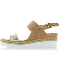 bb9dc572b4a5 Belle Women Zlaté platformové sandále Bess