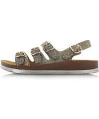 2986ec8284c2 Belle Women Zlaté sandále Andra