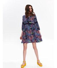 752c331e29d4 Ružové čipkované šaty s prestrihom v dekolte AX Paris - Glami.sk