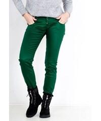 4e5dc715025b Rouzit Štýlové dámske zelené nohavice