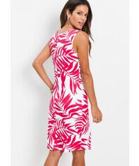 1723b2eba56d bonprix Úpletové šaty s potiskem