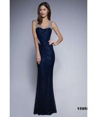 f6adc1e071a5 Soky Soka Jednoduché večerní šaty modré