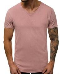 f1797c0f60f9 Pánske Tričko ružové OZONEE O 2309