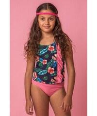 0e710588ec Lentiggini a Mila Swimwear Flower lányka tankini többszínű. 6 090 Ft