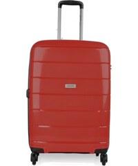 0fdd647922 Paklite cestovné kufre na kolieskach stredné 74 litrov červený pak-03-9-002