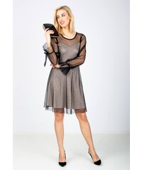4d6dc782407c Rouzit Elegantné krátke čierne šaty