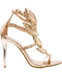 2cf970fe4908 GLAM GLAMADISE shoes Dámske exkluzívne sandále zlaté