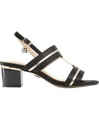 c1e42f5cc5ec Laura Biagotti Dámské sandály na nízkém podpatku černé