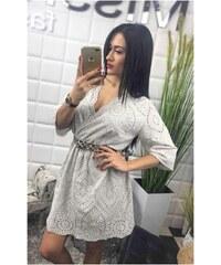 fc1b3aee7bb7 BudTrendy Biele krajkované letné šaty