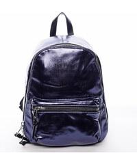 8bd80cad94 David Jones Ultramoderní lesklý batoh Shine modrý