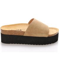e309320a5346 Černé dámské boty na platformě z obchodu DesignShoes.cz