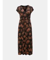 c5e03162e9fe Černé vzorované maxišaty Dorothy Perkins Curve
