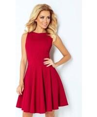 f6720d3d01fc Numoco Slávnostné šaty v bordovom prevedení 125 1