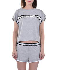4824d33c49 Calvin Klein Dámske pyžamo Millenial Pj Set In Bag QS6193E-020 Grey Heather