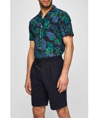 591f28becbb6 Pánské šortky Tommy Hilfiger Jeans Essential Black Iris - Glami.sk