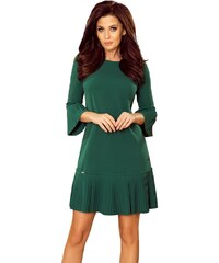85f62e81fac8 Numoco Dámské zelené šaty 228-2