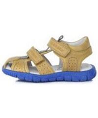 53ceb28d71cb D.D. Step DD STEP celokožené letné sandále K330-4009BM yellow