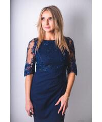 81d388803e29 Jersa společenské šaty MM-127212 modrá