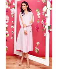 33ed7c933ff9 Lemoniade společenské šaty MM-130006 růžová
