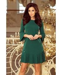 5f46df83afa1 Numoco Elegantné dámske šaty 228-2 LUCY - zelené