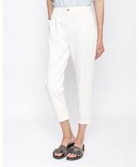 96c21956dcfa Dámske nohavice Hugo Boss Solga biele