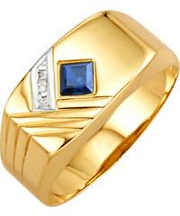 012d7ca48585 Pánsky zlatý prsteň KLiNGEL Žltá