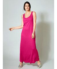 237c17053985 Jersey maxi šaty Sara Lindholm Pink
