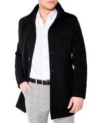 e6dce5c2c0 Ombre Clothing Elegantní pánský kabát victor černý