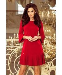 694d6dc5fb6f Numoco Elegantné dámske šaty 228-3 LUCY - červené