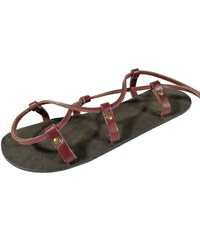 adaa373552ae Unisex kožené barefoot sandály kristusky Cheops