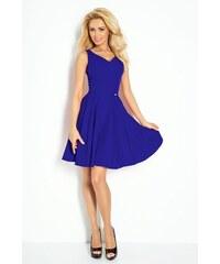 6940685c70df LAFIRA Dámské tmavě modré společenské šaty 178-2 - Glami.cz