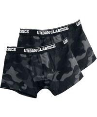 e95b11db5a Urban Classics - Balení 2 ks kamufláž boxerek - Boxerky set - tmavě  maskáčová