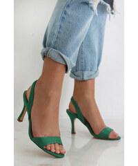 635343adba Moow Zelené sandále Alycia