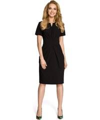 fcea186d9e83 Dámske šaty MOE M234 čierne