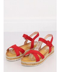 6aeabca83822 Inello sandály MM-132078 červená