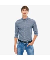 3cc4a0478df4 Tommy Hilfiger pánská tmavě modrá kostkovaná košile