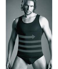 Zeštíhlující pánské triko Mitex Body Perfect 170/180 , černá