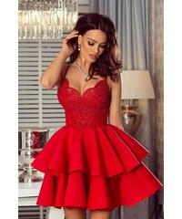 05425552067f Ewomen Šaty Britney červené