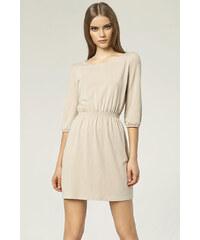 Šaty Nife S49, béžová