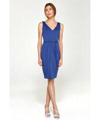 521dd5aa2b6a Spoločenské dámske šaty s94 Nife - modré