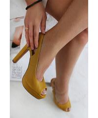 b2ba9130f7 Sárga Magassarkú cipők | 90 termék egy helyen - Glami.hu