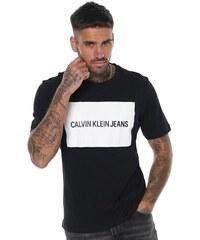 07af2b2920 Pánské tričko Calvin Klein Box Logo - černá