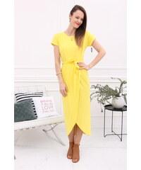 7f84070f9d0e Jednofarebné Šaty s krátkym rukávom