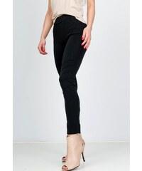 4521a162fcf2 Rouzit Elegantné čierne nohavice s elastickým pásom