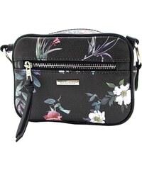 f9034301a7 Elegantní černá David Jones crossbody kabelka s květinami