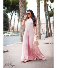 983ad470ead9 Butikovo Svetloružové šaty MAXI BEACH O la Voga